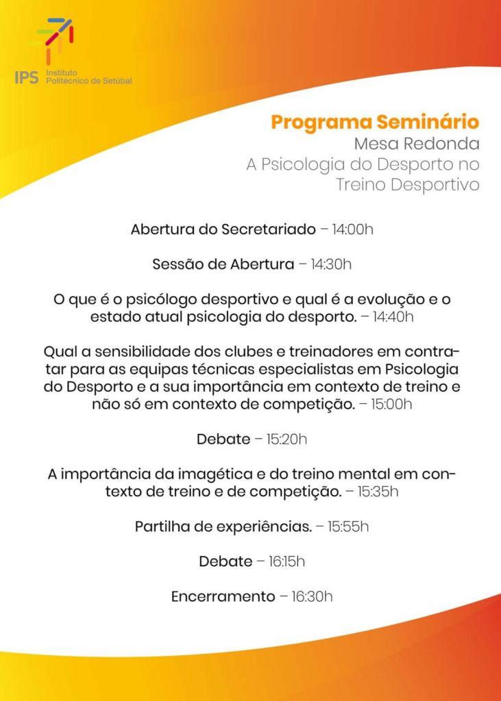 Mesa Redonda - A Psicologia no Treino Desportivo
